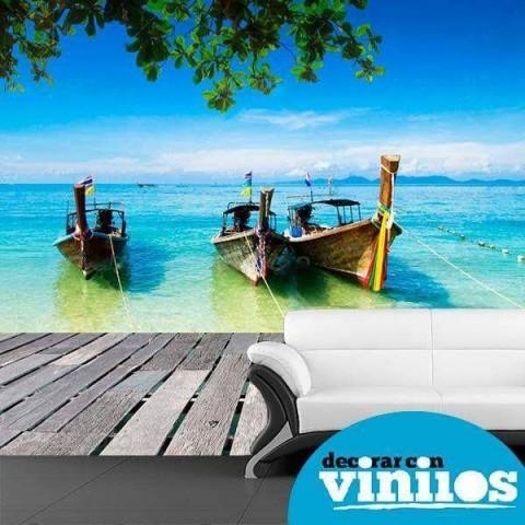 Fotomural - Mar tailandia