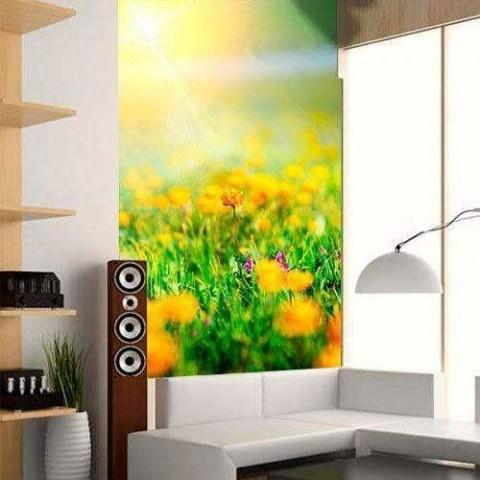 Fotomural - Flores Amarillas