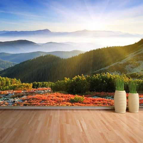 Fotomural - Vistas montaña