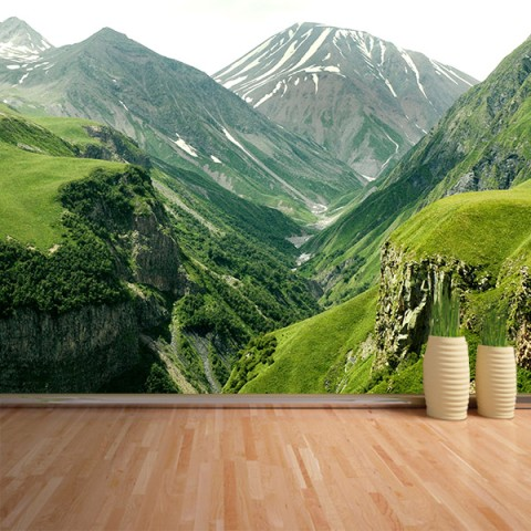 Fotomural - Entre Montañas