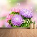 Fotomural - Flores lilas