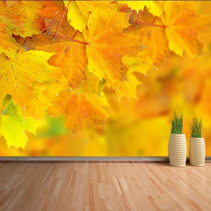 Fotomural - Hojas de otoño