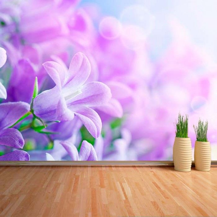Fotomural - Flores Lilas 2