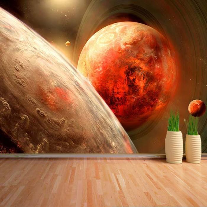 Fotomural - Planeta rojo