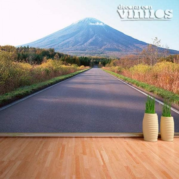 Fotomural - Carretera Montaña