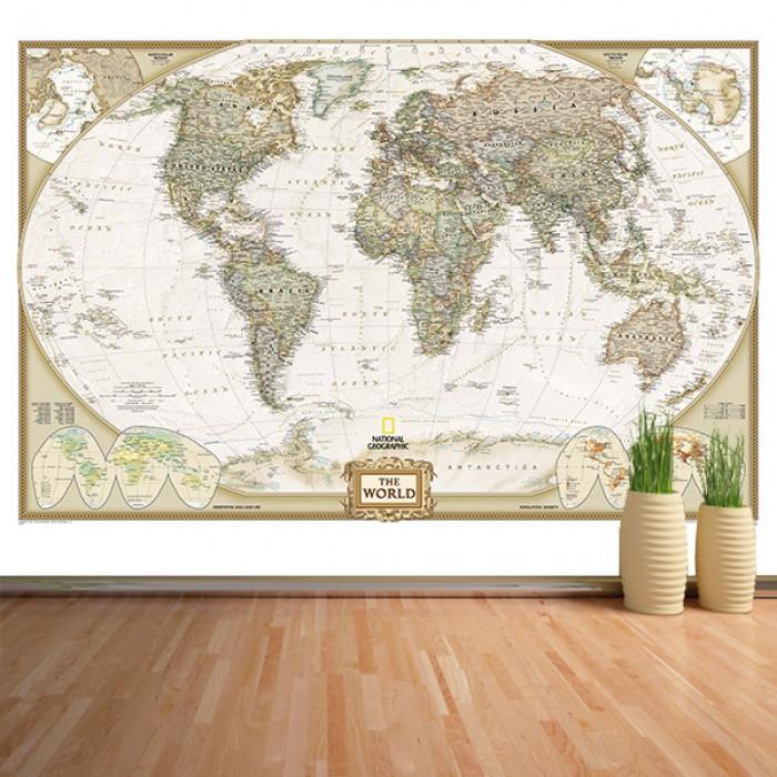 Fotomural - Mapa antiguo