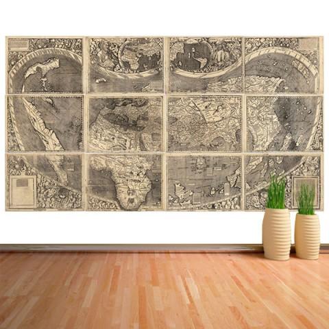 Fotomural - Mapa Waldseemüller