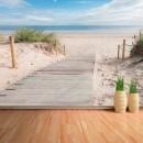Fotomural - Pasarela a la playa