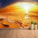 Fotomural - Amanecer en la playa