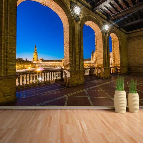 Fotomural - Plaza España Sevilla interior