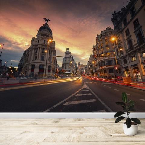 Fotomural - Gran Vía Madrid