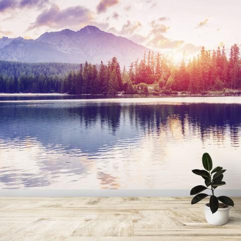 Fotomural - Lago y Montaña