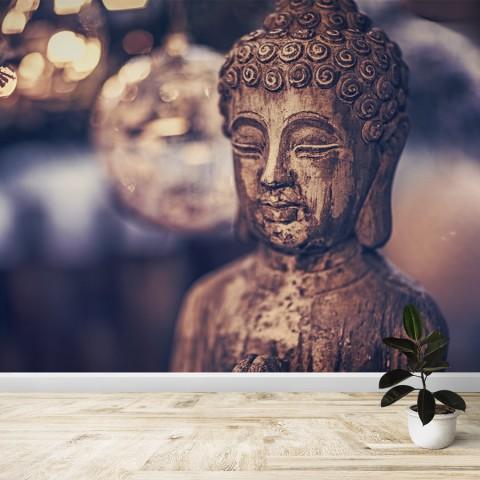 Fotomural - Buda de madera