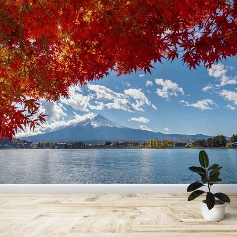 Fotomural - Monte Fuji en otoño