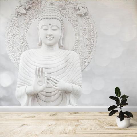 Fotomural - Buda blanco