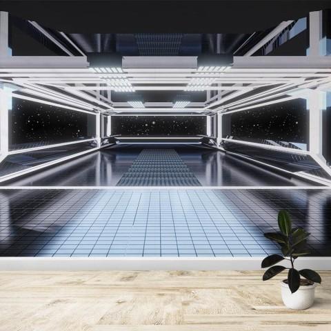 Fotomural - Interior Nave espacial