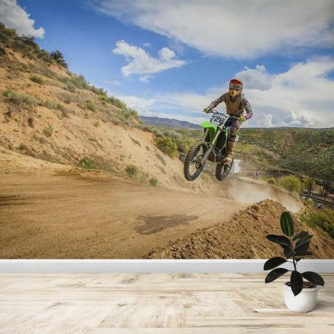 Fotomural - Motocross Salto