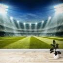 Fotomural - Estadio Campo de futbol en la noche