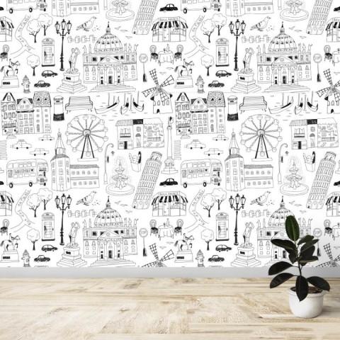 Mural - Ciudades
