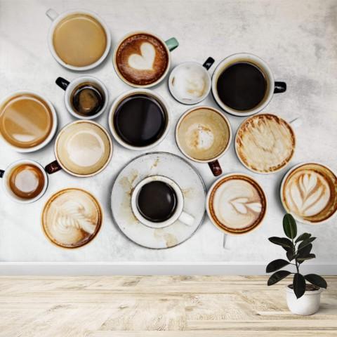 Fotomural - Tazas de cafe