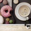 Fotomural - Café con donuts