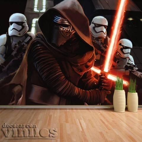Fotomural - Star Wars Kylo Ren