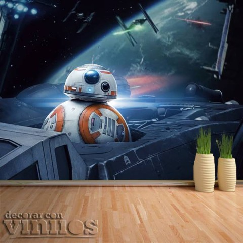 Fotomural -  Star Wars 8k-bb-8