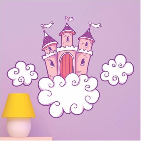 Vinilos Decorativos - Castillo rosa 2