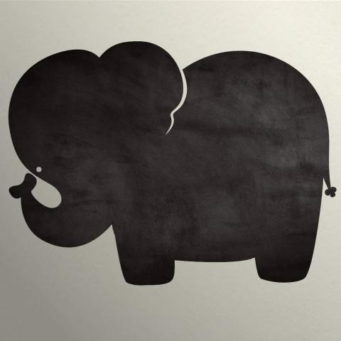 Vinilo Pizarra - Elefante