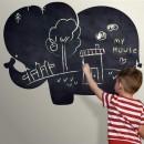 Vinilo Infantil Pizarra - Elefante