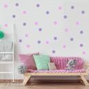 Vinilo Topos de colores - Colores Personalizados