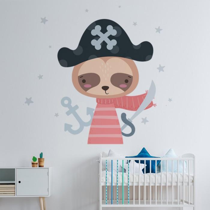 Vinilo decorativo infantil Bebe Pirata