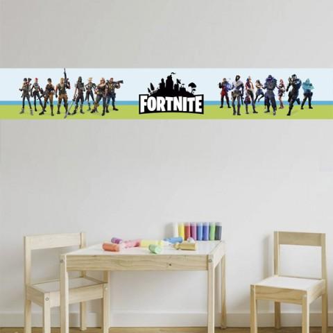 Cenefa Infantil - Fortnite