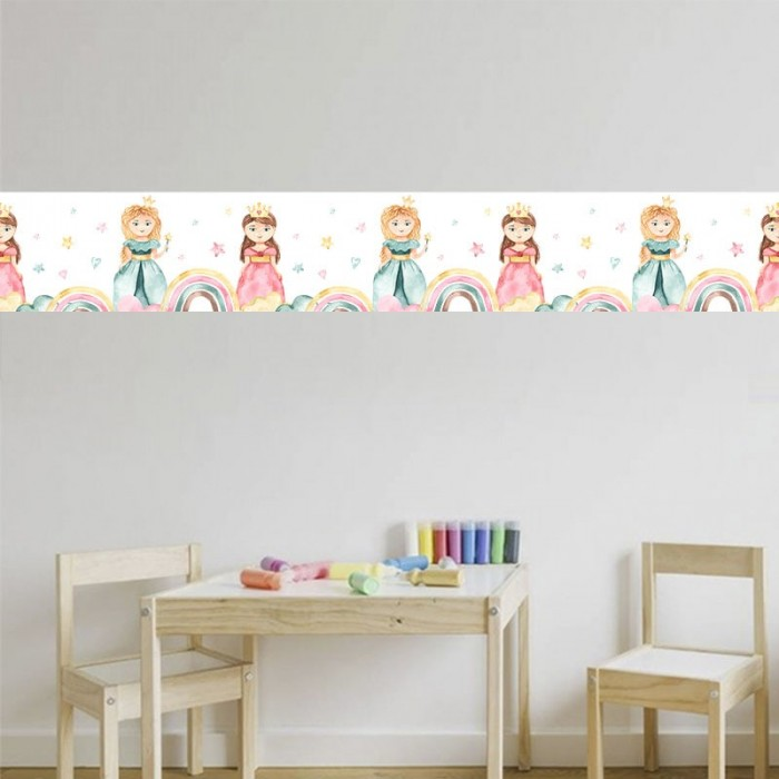 Cenefa Infantil - Princesas