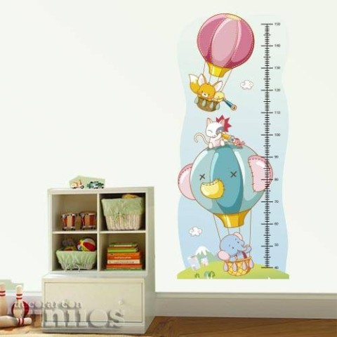 Medidor Infantil - Animalitos en Globos