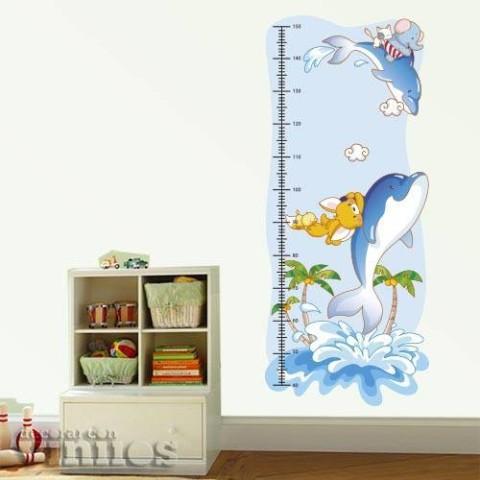 Medidor Infantil - Delfines