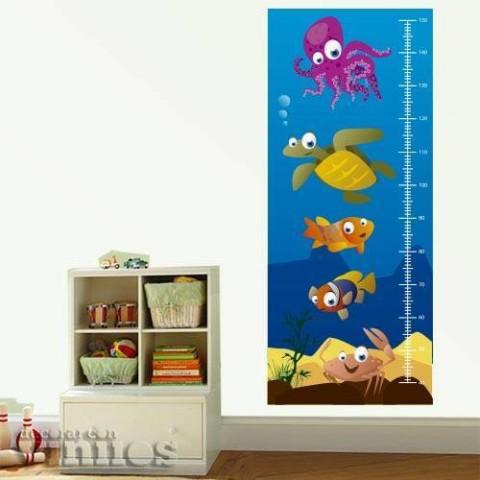 Medidor Infantil - Bajo el mar