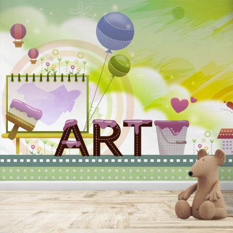 Fotomural Infantil - Art