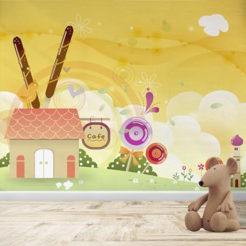 Fotomural Infantil - Caramelos
