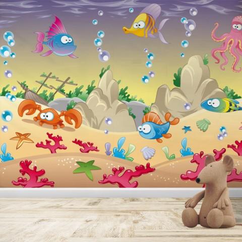 Fotomural Infantil - Bajo el mar 2