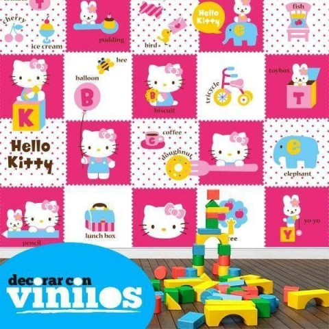Fotomural Infantil  - Hello Kitty 2