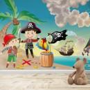Fotomural Infantil - Piratas 2