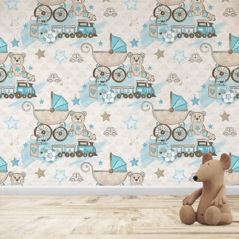 Mural Infantil - Baby boy