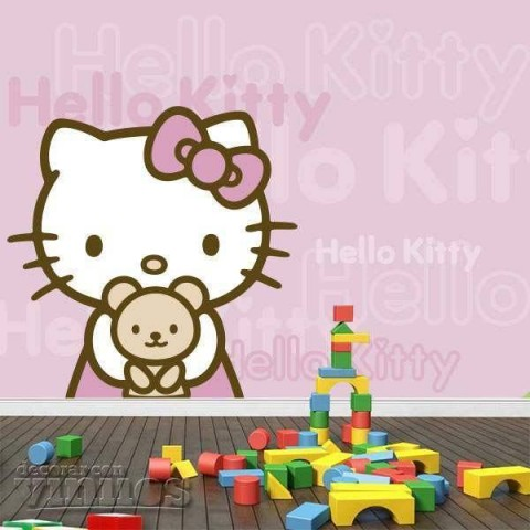 Fotomural Infantil  - Hello Kitty