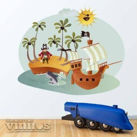 Vinilos Decorativos - Piratas 3