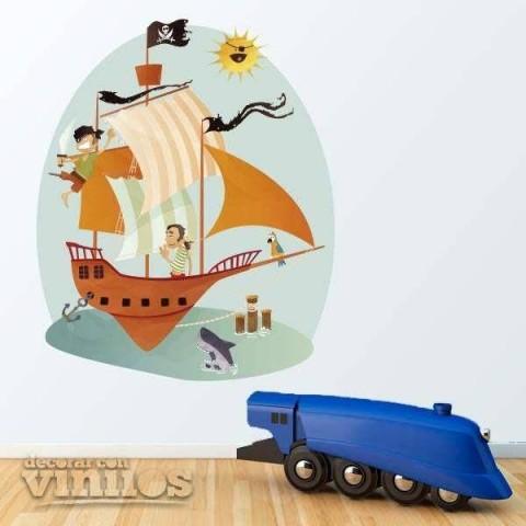 Vinilos Decorativos - Piratas 4