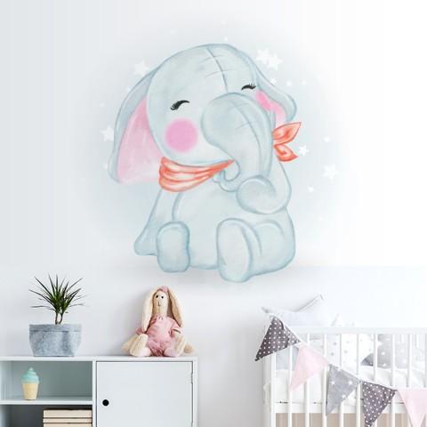 Vinilos Decorativos - Bebe Elefante