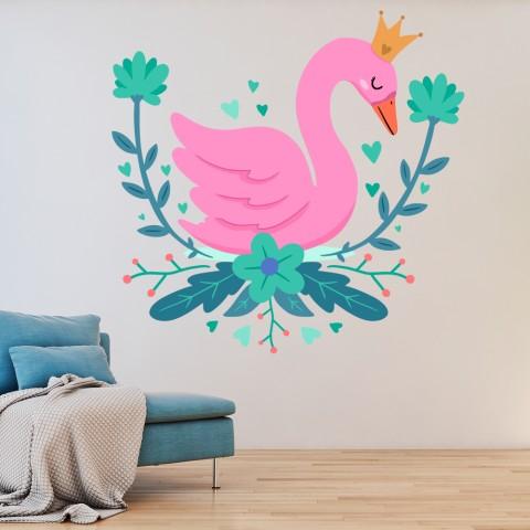 Vinilos Decorativos - Cisne Rey