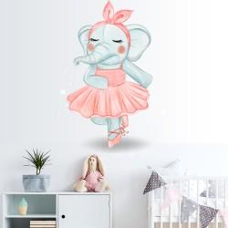 Vinilos Decorativos - Elefante Bailarina