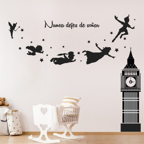 Vinilos Decorativos - Peter Pan